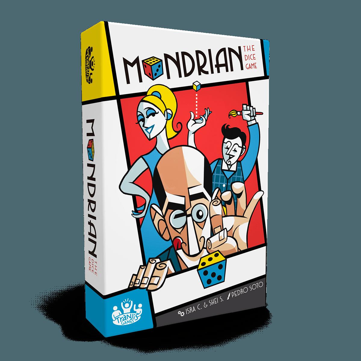 Juego De Mesa Mondrian Un Juego Vanguardista Tranjis Games