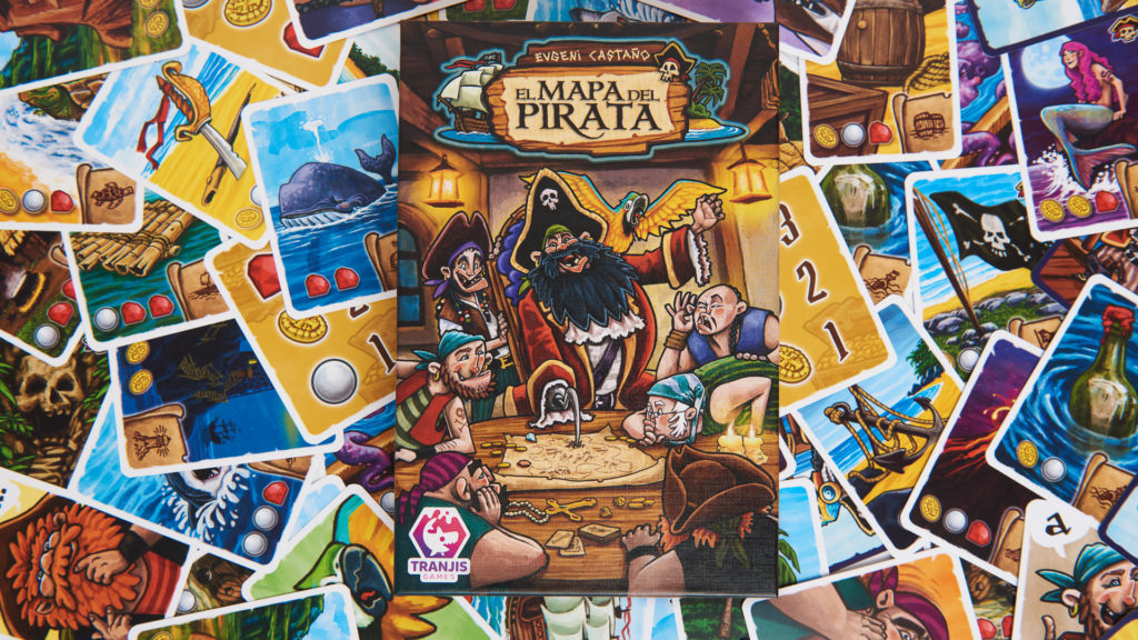 El Mapa del Pirata juego de mesa
