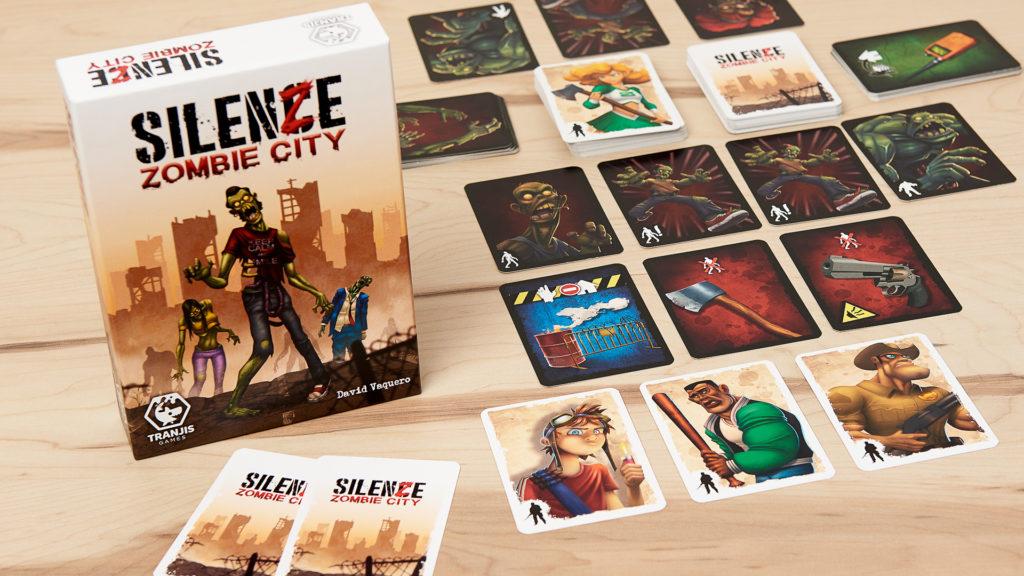 SilenZe: zombie city juego de cartas de zombis rápido de Tranjis games