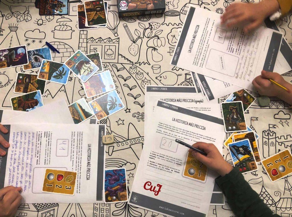 aprendizaje basado en juegos matemáticas lengua