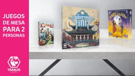 juegos de mesa para 2 jugadores Princesa Jing Cobardes Adios Calavera