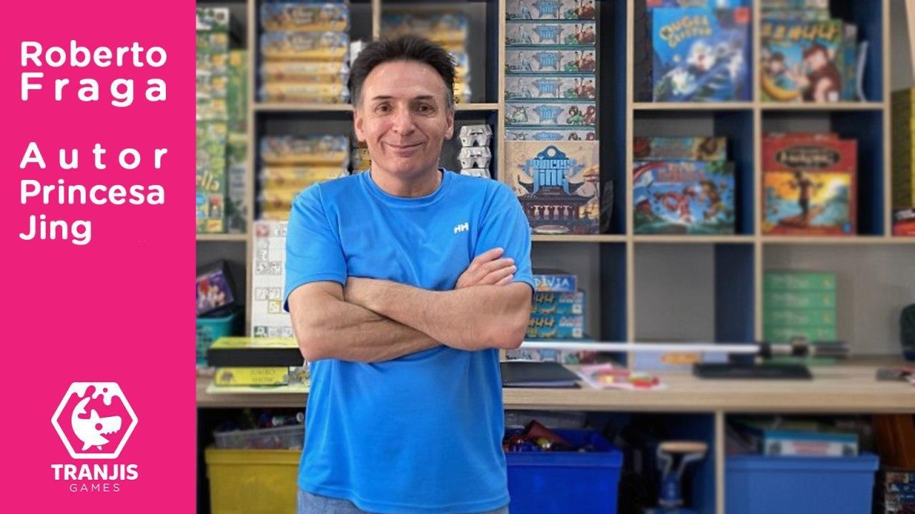entrevista autor juegos de mesa Roberto Fraga