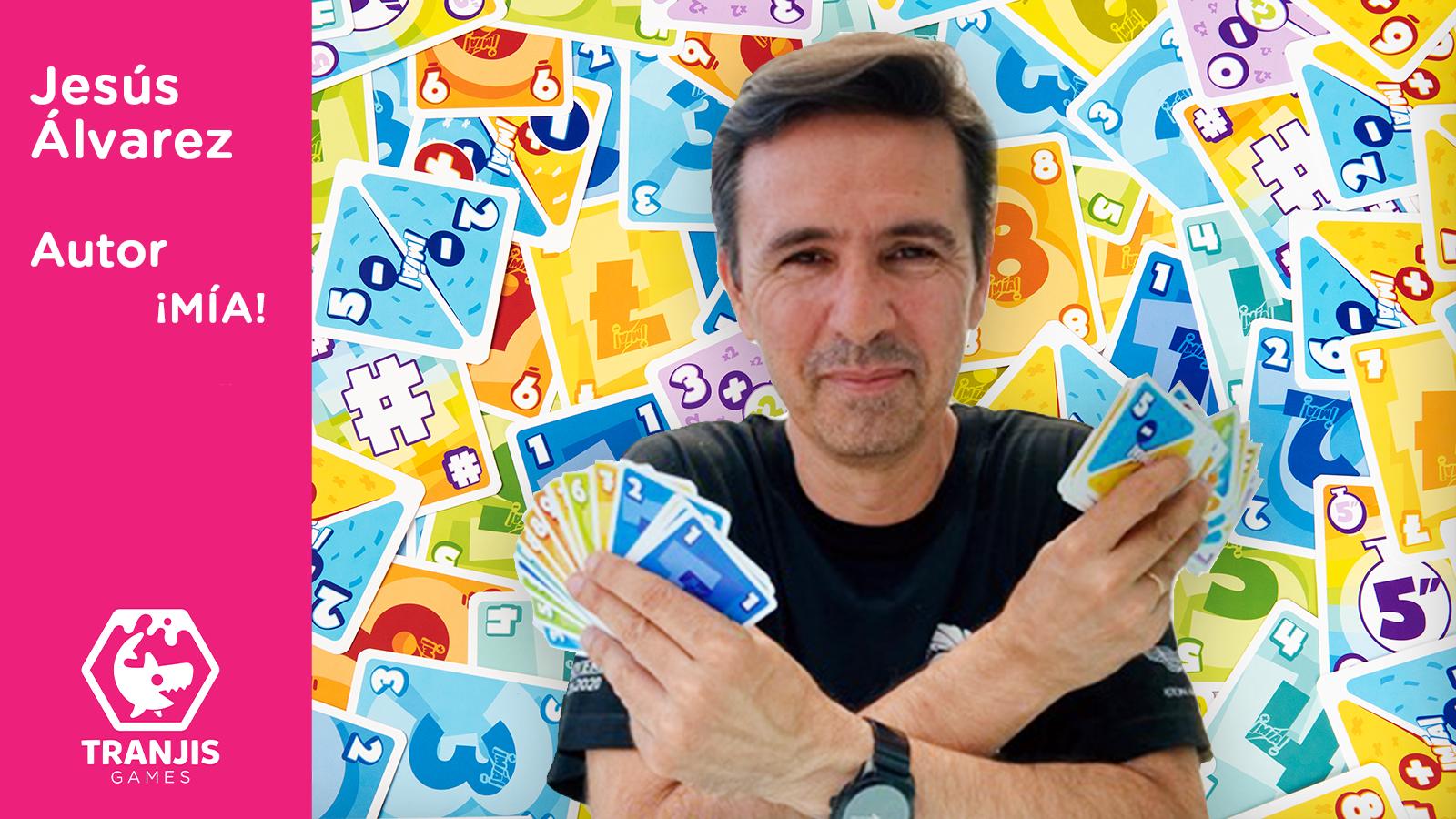 entrevista autor juegos de mesa Jesús Álvarez