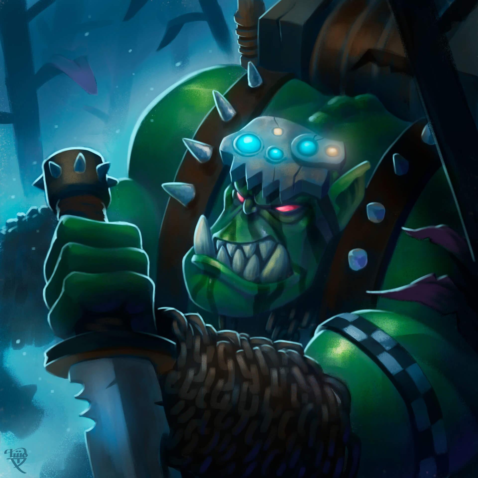 ilustración Tworents Warhammer 40K