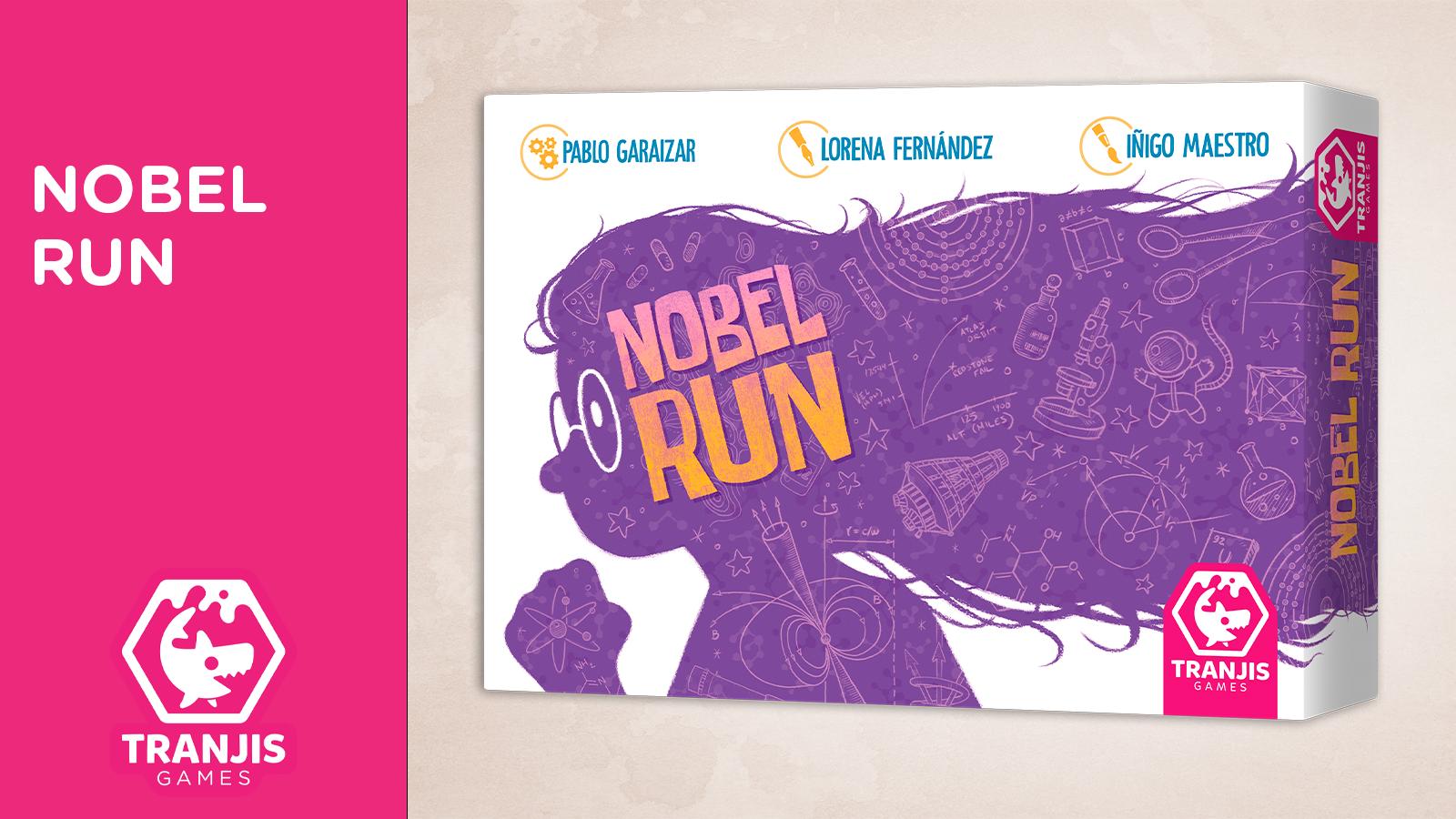 portada anuncio Nobel Run