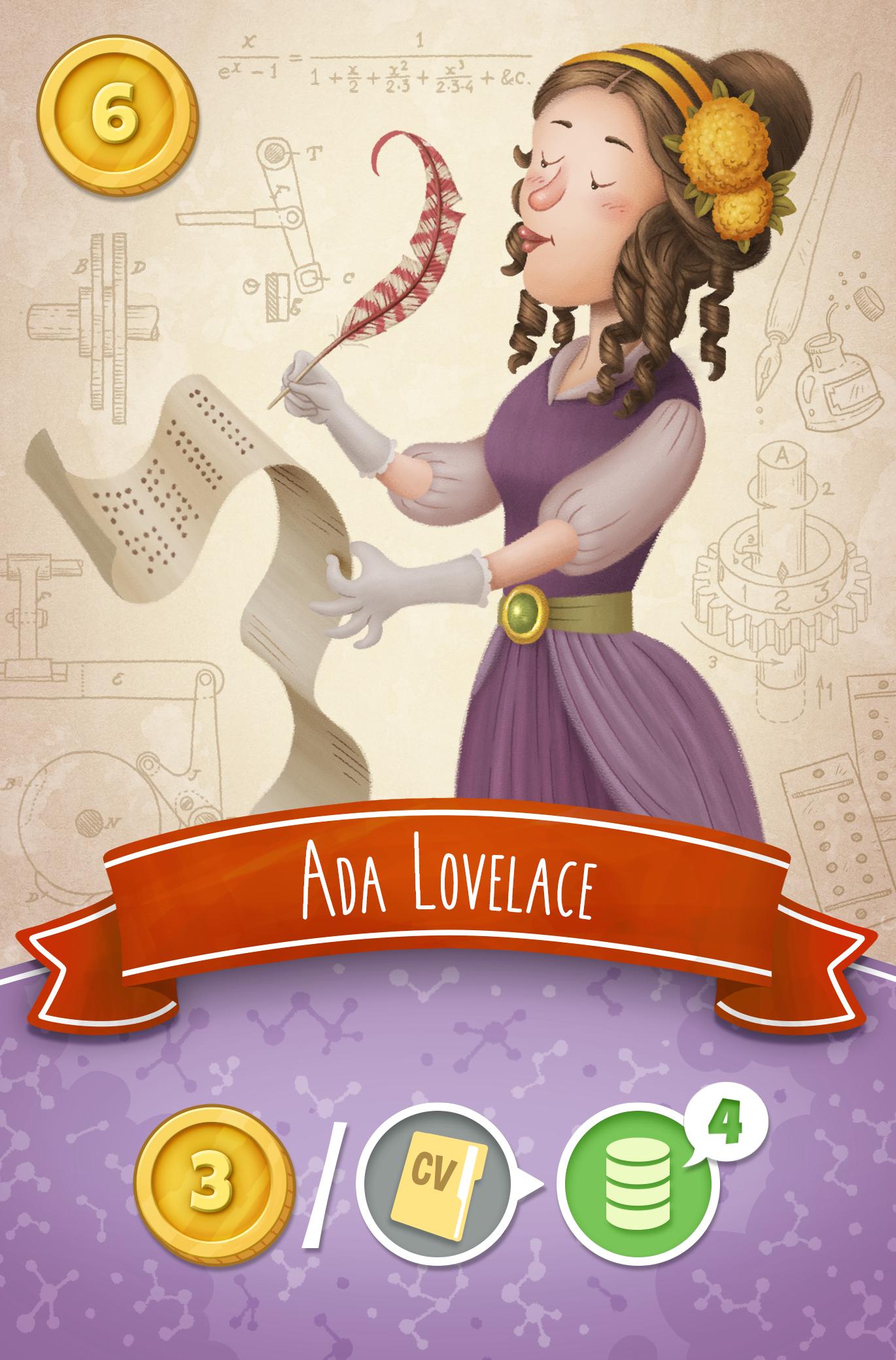 carta Ada Lovelace Nobel Run